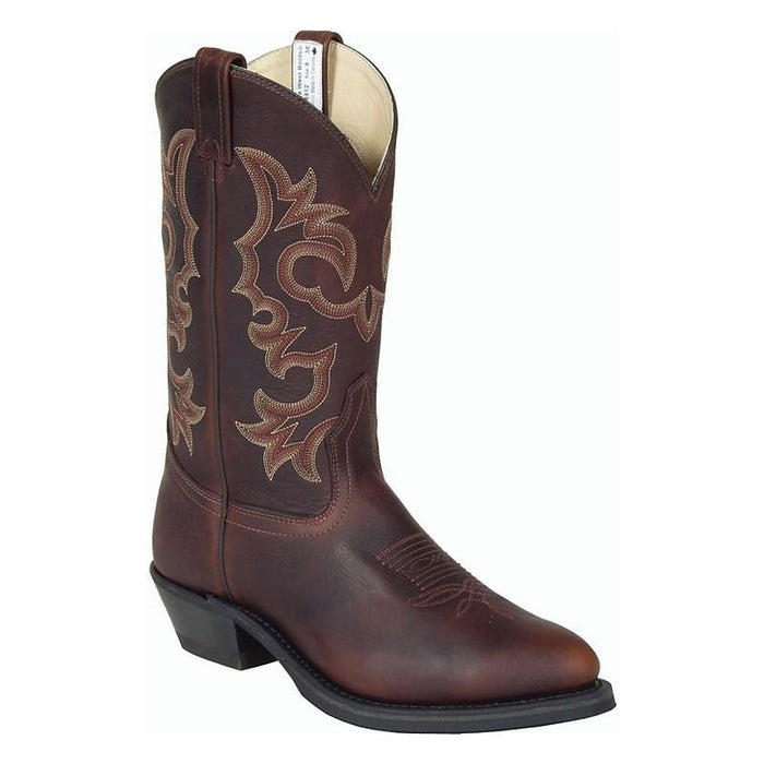 Canada West Oiled-Up Cowboy Boot