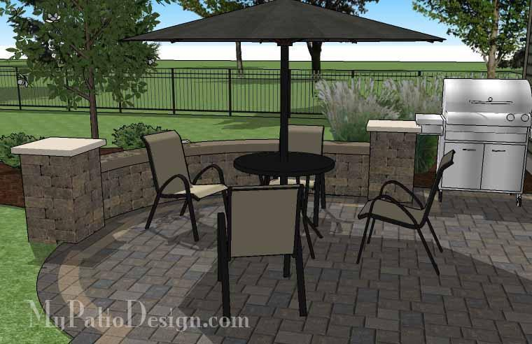Paver Patio #S-031001-01