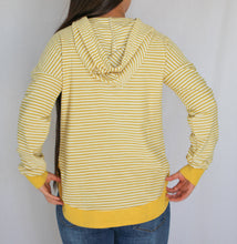 Load image into Gallery viewer, Lemon Striped Hoodie
