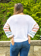 Load image into Gallery viewer, Rainbow Sleeve Sweater