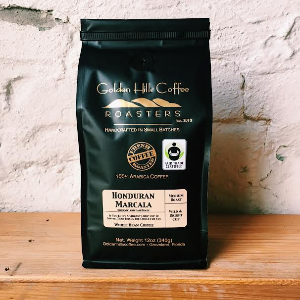 Golden Hills Honduran Marcala Coffee - Locally Roasted