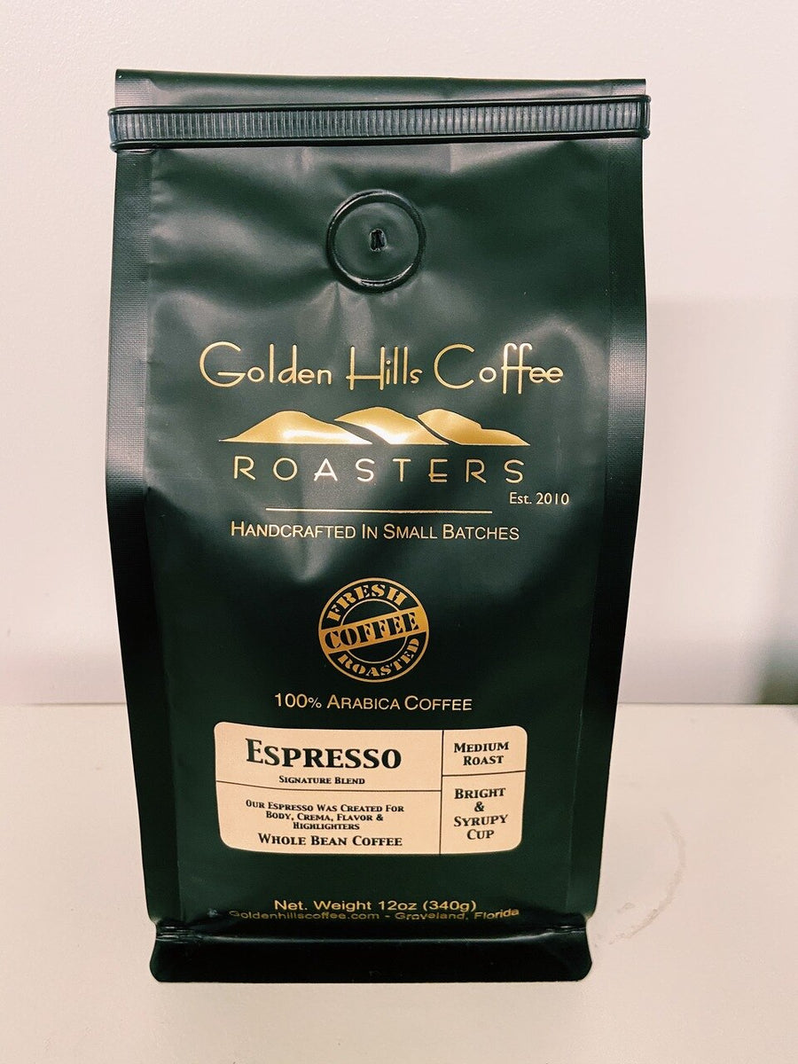 Golden Hills Espresso Coffee - Locally Roasted