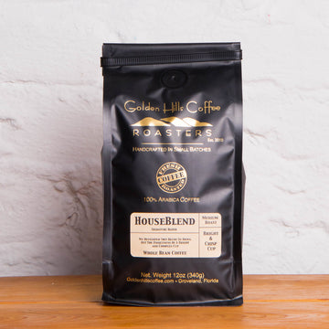 Golden Hills House Blend Coffee - Locally Roasted