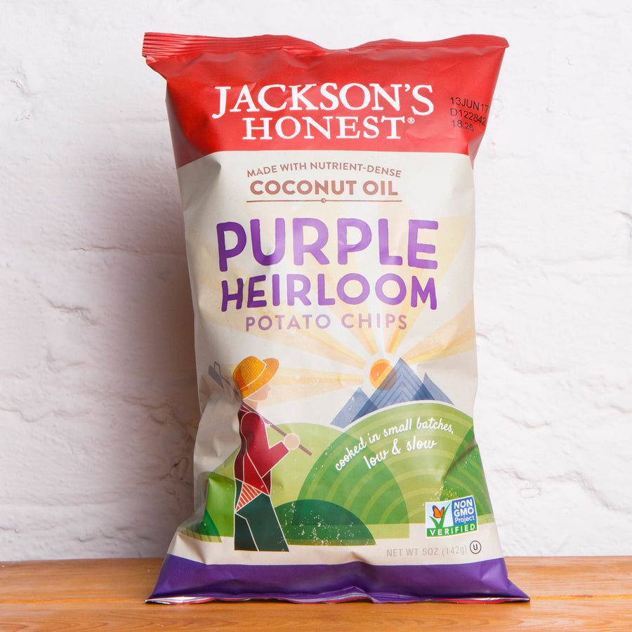 Jackson's Honest Purple Heirloom Potato Chips