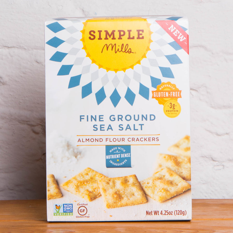 Simple Mills Almond Flour Crackers - Sea Salt