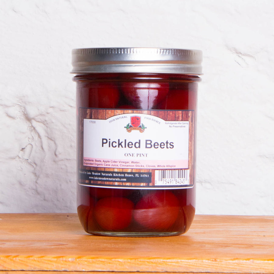 Pickled Red Beets - One Pint (Lake Meadows)