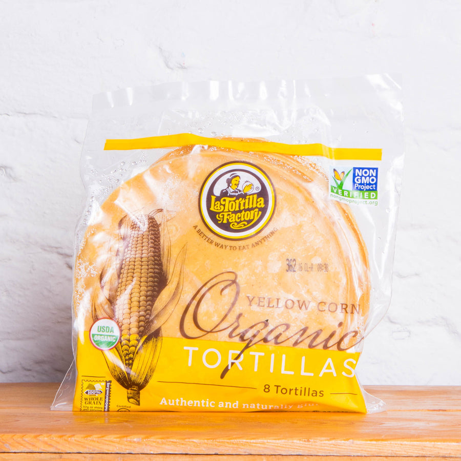 Latortila Factory Corn Organic Tortillas