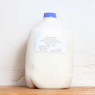 Raw Cows Milk Gallon A2/A2 - Sandhill Farm - LOCAL