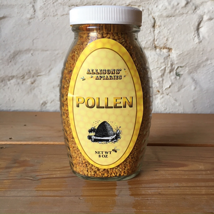 Bee Pollen 8oz - Local - Allison's Apiaries