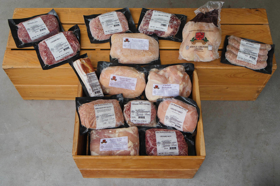 Large Poultry, Beef, & Pork Box - LOCAL