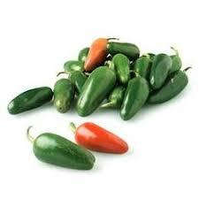 Organic Fresno Peppers - 1 Pound - LOCAL - Brook Hollow Farm