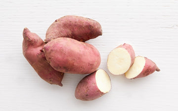 Organic Murasaki Japanese Sweet Potatoes - 1 Pound - LOCAL - Frog Song Organics
