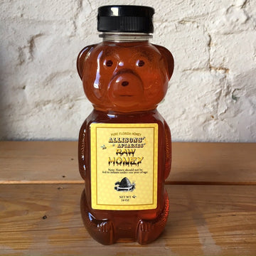 Local Raw Honey - 24oz Wild Flower - Allison's Apiaries