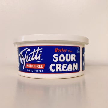 Tofutti Sour Cream - Milk Free - Non-Hydrogen Oil