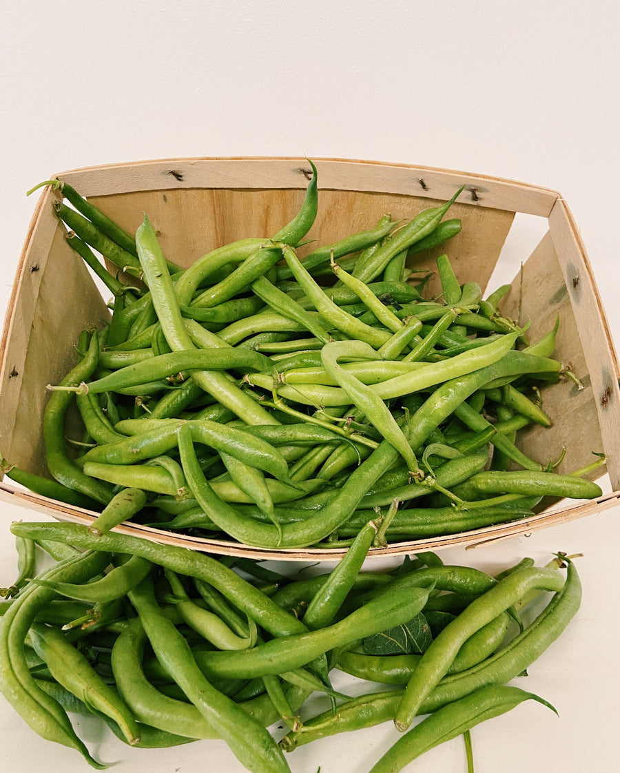Local Green Beans - Synthetic Pesticide Free - 1 Pound
