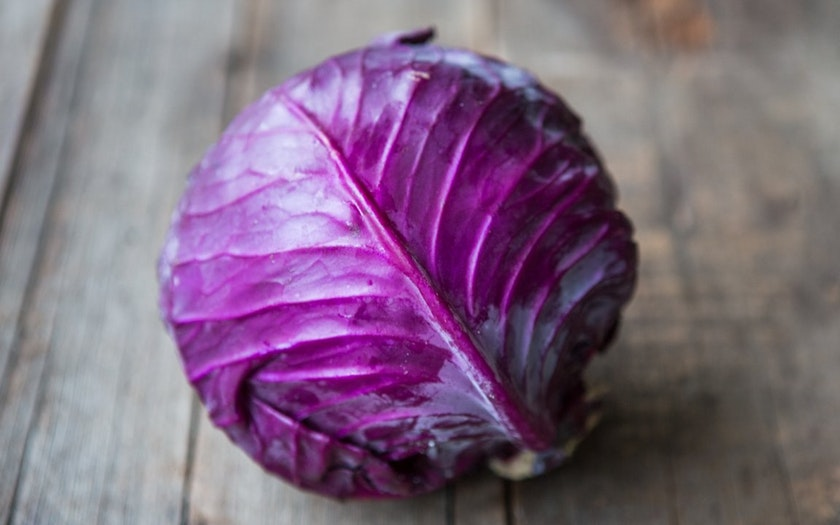Organic Red Cabbage - 1 Head
