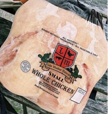 Small Whole Chicken - Approx. 1.8 LB/EA. - Lake Meadow Naturals