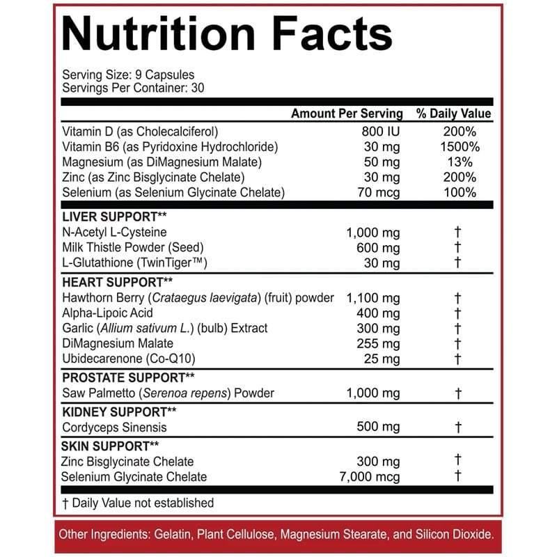 5% Nutrition Liver & Organ Defender | Muscle Players