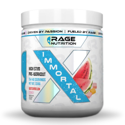 Rage Nutrition Immortal X | Muscle Players