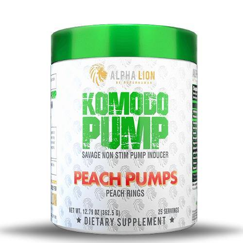 Alpha Lion Komodo Pump | Muscle Players