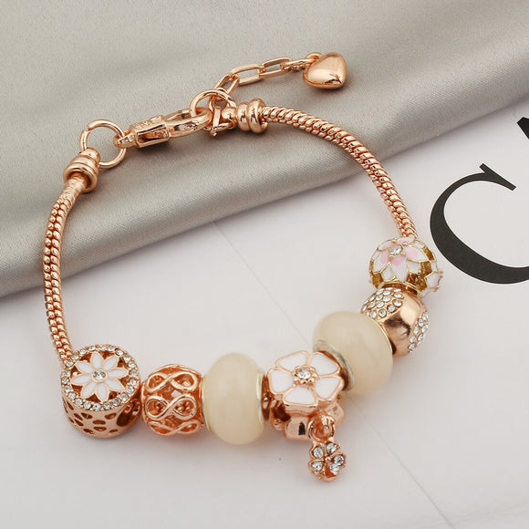 Rose Gold Pandora Bracelet For Women