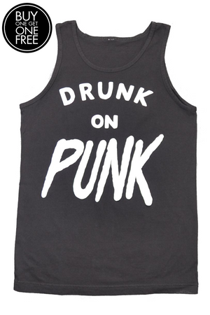 DRUNK ON PUNK TANK