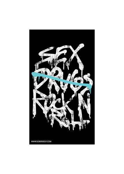 Sex, No Drugs, Rock and Roll Sticker