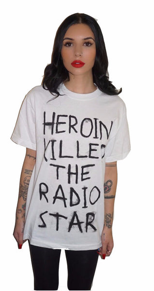 Heroin Killed The Radio Star Tee