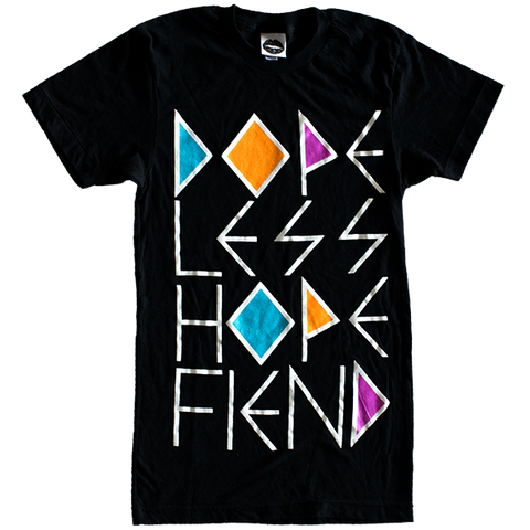 DOPELESS HOPE FIEND T-SHIRT (BLACK)