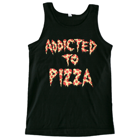 ADDICTED TO PIZZA TANK TOP