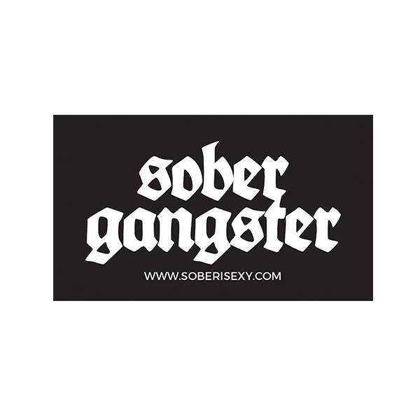 Sober Gangster Sticker 4 Pack
