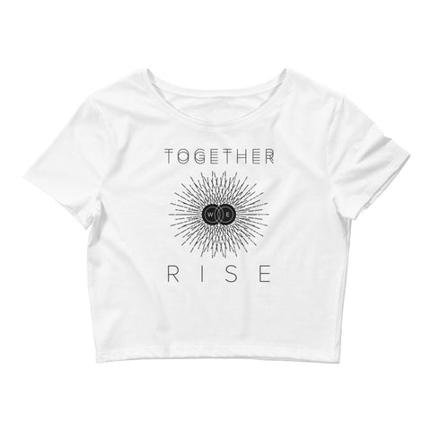 Together We Rise Crop Tee