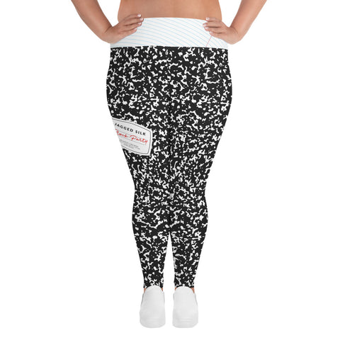 Block Party Plus Size Yoga Leggings