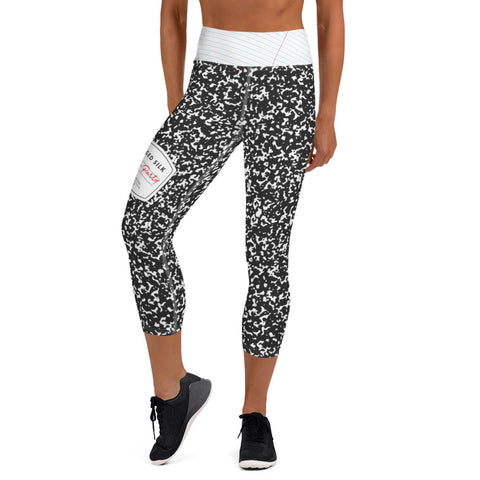 Block Party Yoga Capri Leggings