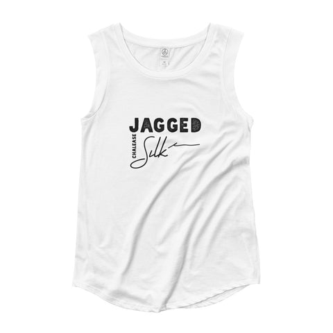 Jagged Silk Album Cap Sleeve T-Shirt