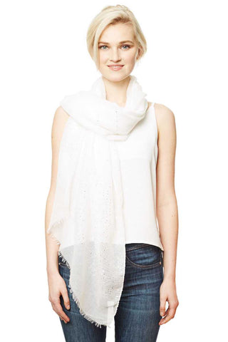 Image of Solid Lurex Scarf - My Bargain Boutique