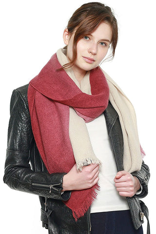 Two Tone Gradation Scarf - My Bargain Boutique
