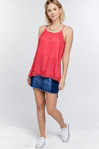Women's Layered Cami Top - My Bargain Boutique