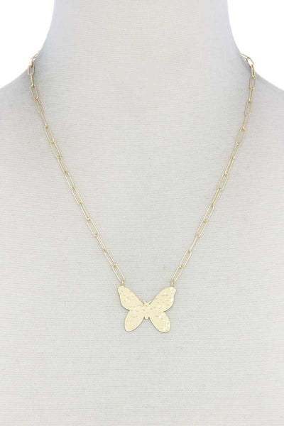 Butterfly Necklace - My Bargain Boutique