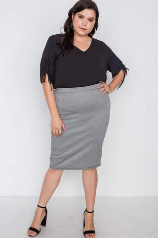 Image of My Bargain Boutique 1XL Pencil Skirt