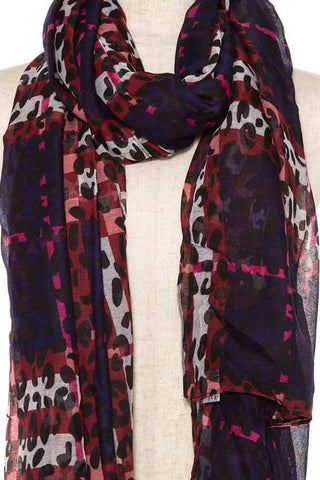 My Bargain Boutique Animal Print Scarf
