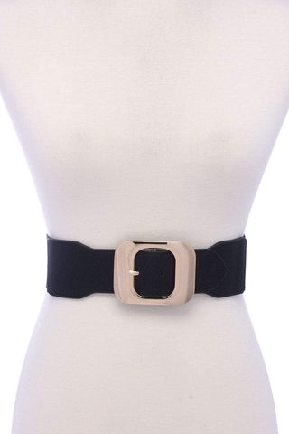 Image of My Bargain Boutique Black Fashion Stretch Chic Belt