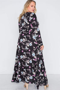 My Bargain Boutique Button Down Maxi Dress