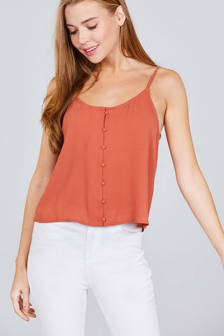 Image of My Bargain Boutique Cami Woven Top