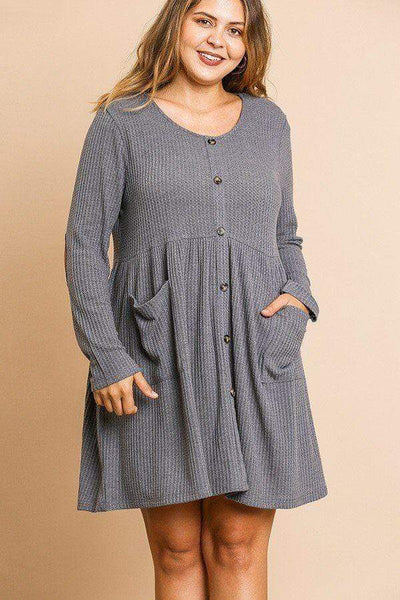 Babydoll Dress - My Bargain Boutique - Affordable Women's Clothing
