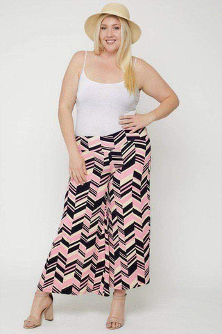 Women's Chevron Print Pants - My Bargain Boutique