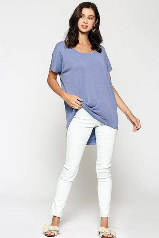 Image of My Bargain Boutique Cupro Solid Top