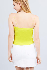 My Bargain Boutique Elastic Strap Tube Top