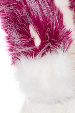My Bargain Boutique Faux Fur Two Tone Neck Wrap