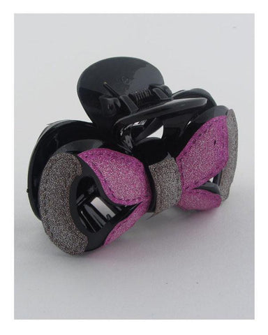 My Bargain Boutique Fuchsia\Grey Hair Jaw Clip